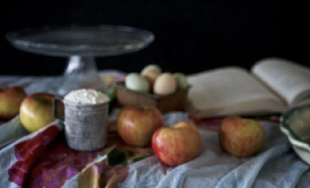 Apple Pie Still Life, Version 1