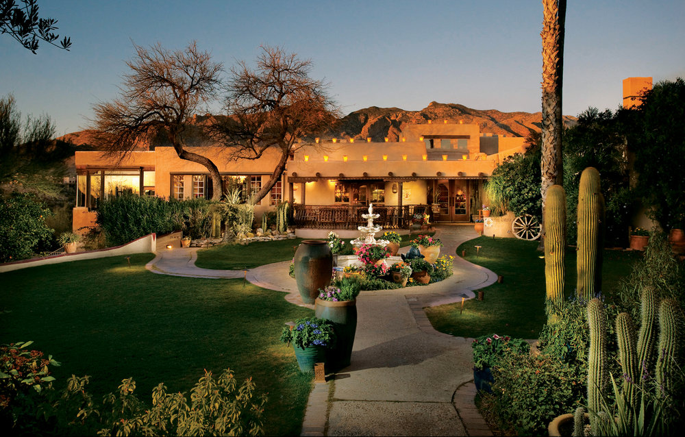 HACIENDA DEL SOL    LUXURY HISTORIC HOTEL