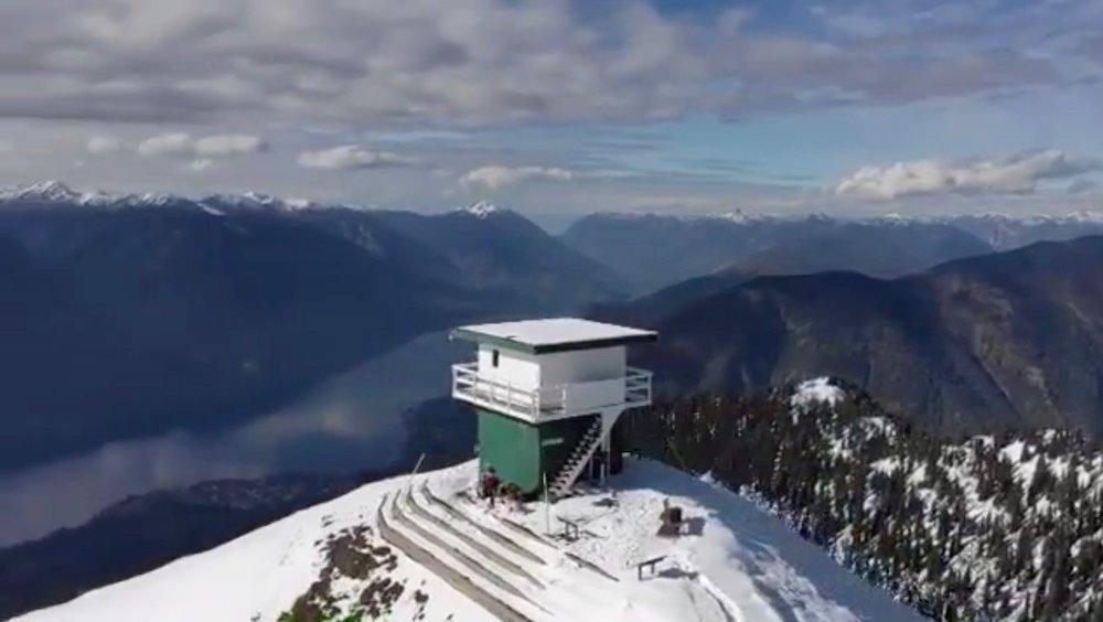 Surprising structure on Idaho Peak