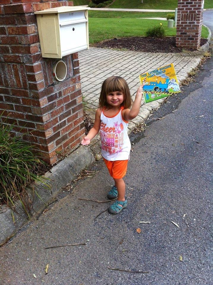 white preschool girl mailbox brick drive & pillar.jpg