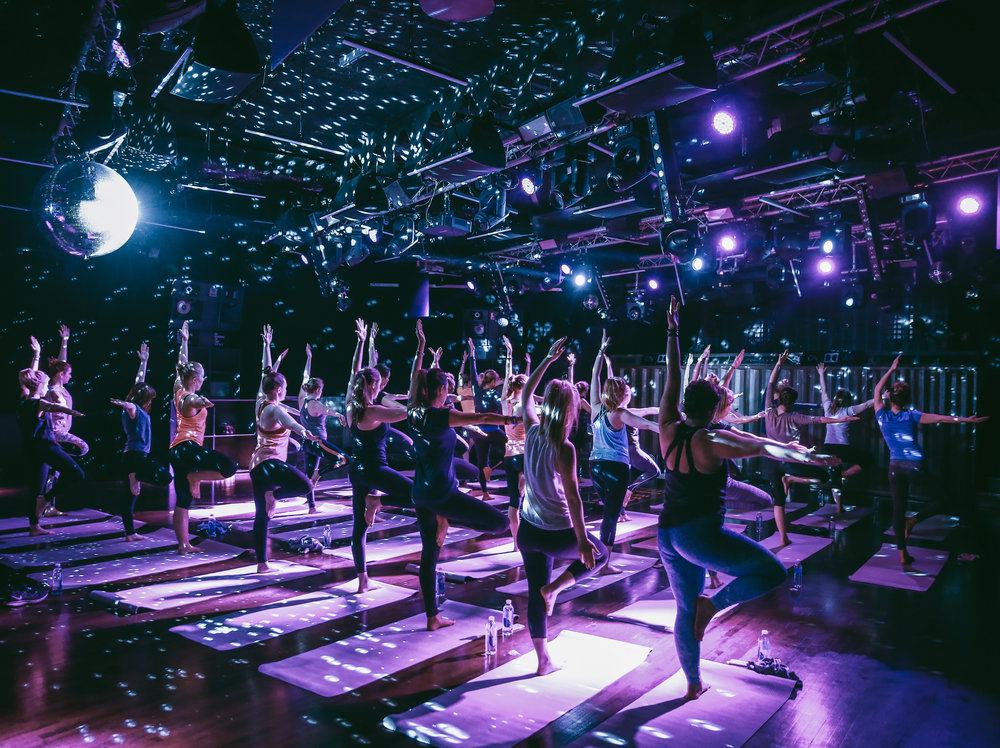 FBY x Ministry of Sound(Monthly)19:00 - 20:15@ Ministry of Sound75 mins of deep and dope fully immersive yoga experience at the iconic Ministry of Sound. -