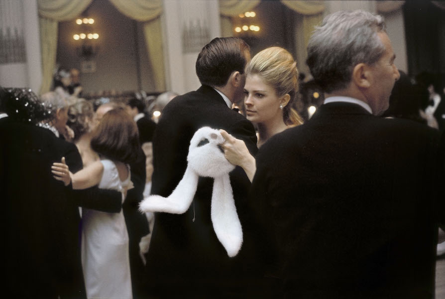 Candice Bergen at Truman Capote's Black & White Ball. Plaza Hotel, 1966.