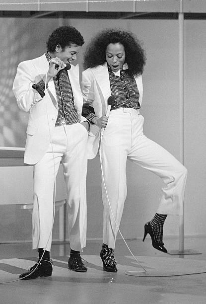 M.J. and Diana Ross
