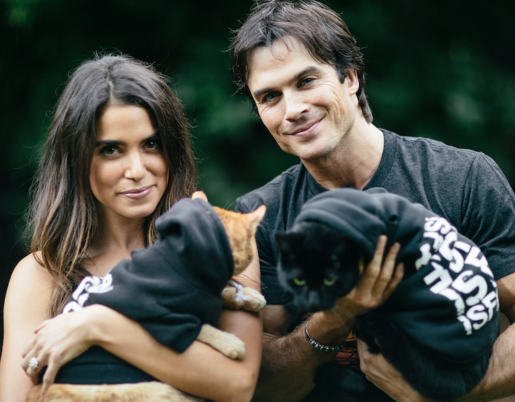 Ian Somerhalder and Nikki Reed (Photo courtesy Glass Jar Photography and ISF)