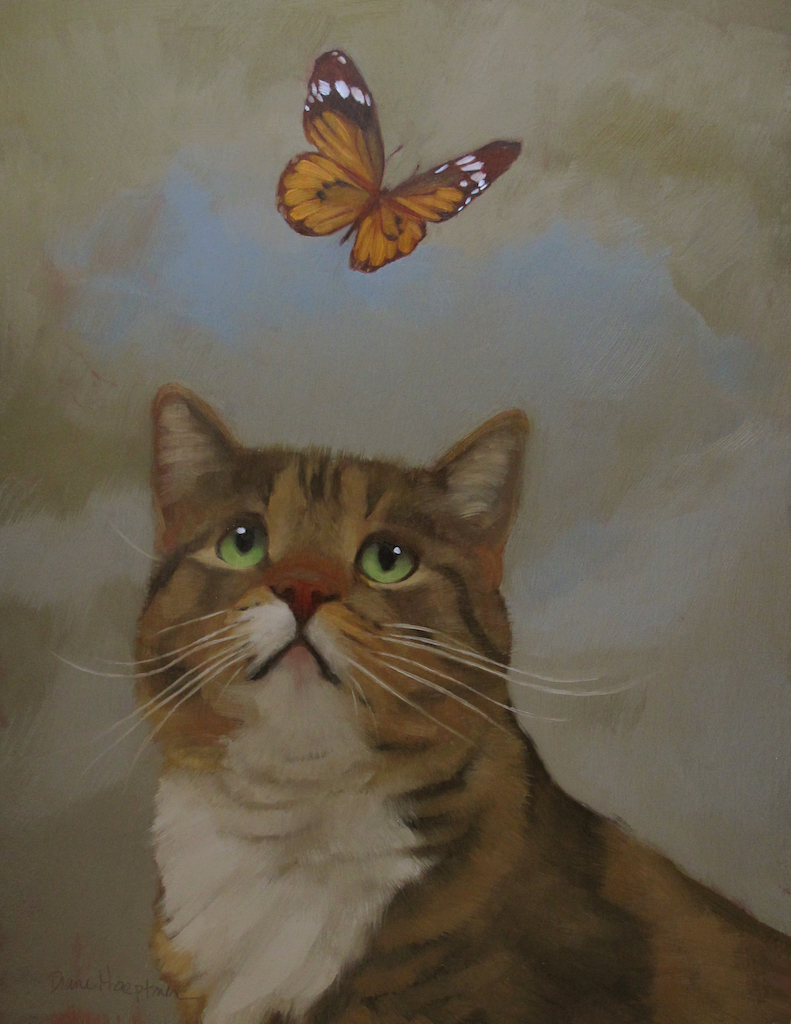 """Butterfly Passerby"""