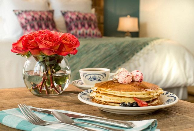Most guests never want to leave The Boarding House once they arrive, and since we offer in room dining-they don't have to! Just ring the bell, and we will bring The Mercantile to you.