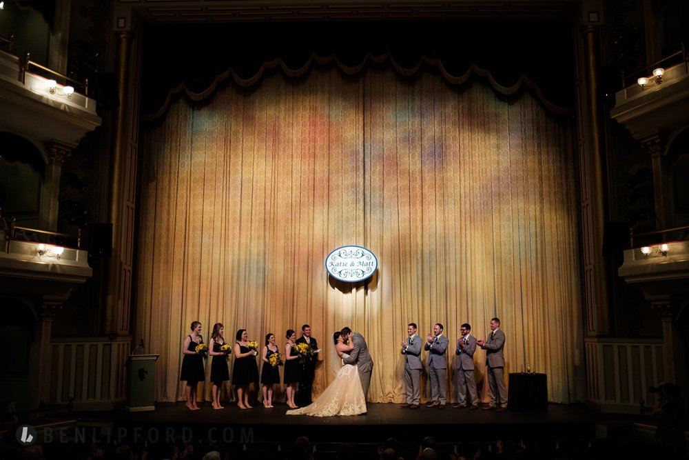 Katie Matt Wedding Springer Opera House Columbus Georgia