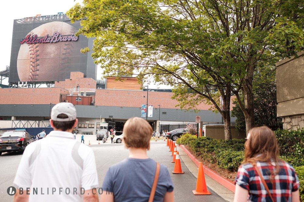 Atlanta Braves Sun Trust Park Personal Baseball Documentary Life