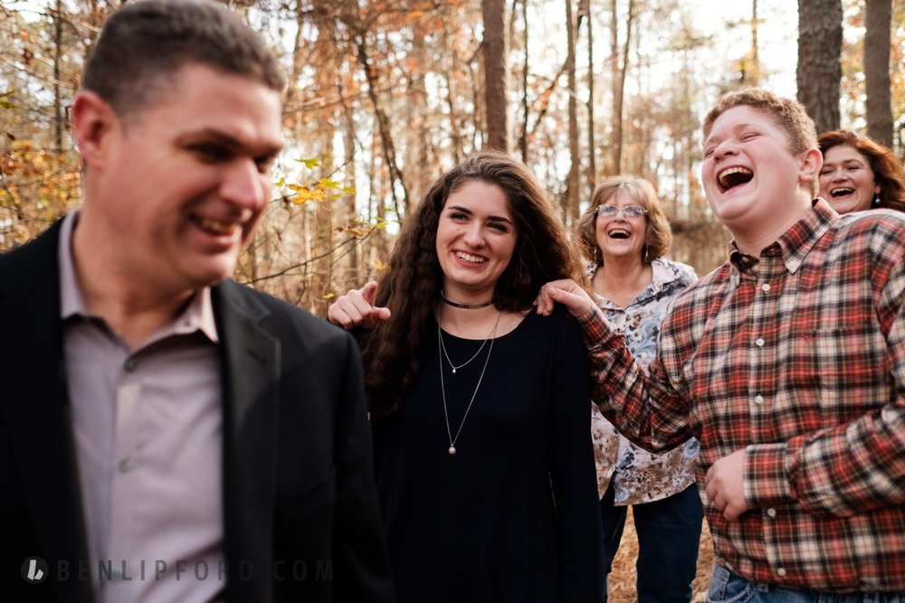 Allen Family Hour in the Life Documentary Lifestyle Portrait Che