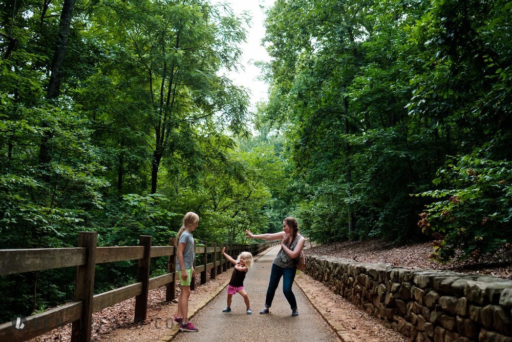 Vacation Zoo HIking Knoxville Tennessee