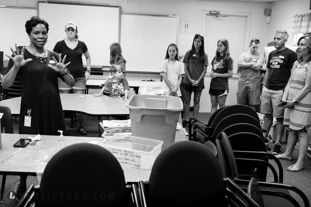 East Cobb Gathering BBQ Social Powers Ferry Elementary School Li