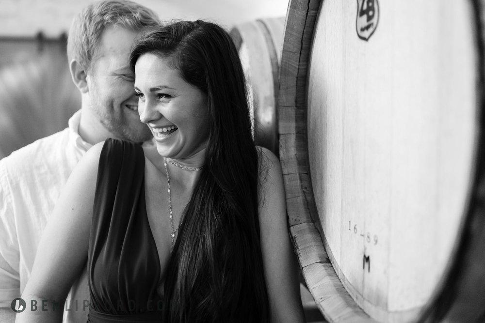 Kayla Ethan Helton Creek Halls Yonah Mountain Vineyards Engageme