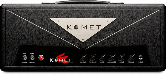 Komet Concorde   This is the highly anticipated post production model of the Limited Edition 50 Watt amplifier. The Concorde incorporates the exact electronic features, components and circuit of the Limited Edition. Our newly fashioned head box cosmetically separates the Concorde from its predecessor. Traditional Trainwreck principles are followed in the design and construction.
