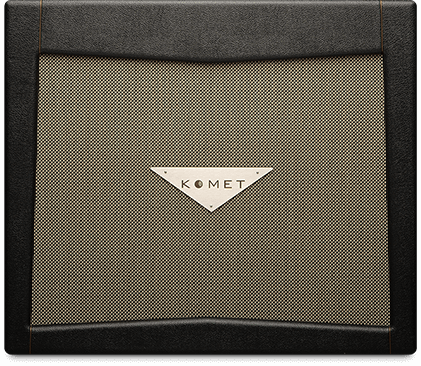 Komet Cabs   Komet cabinets deliver impressive dynamic power and depth of tone with bold, tight low end, complex mids and smooth singing highs.