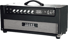 Bruno leadman 60   The Bruno Lead Man 60 is a high gain lead amp that sings with magically rich harmonic complexity and infinite sustain. It has high gain overdrive with vivid note articulation, superb tonal balance and incredible dynamics.