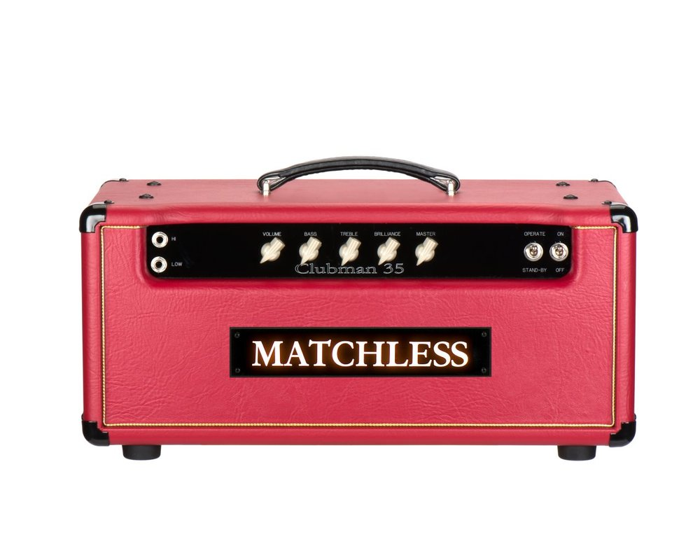 Matchless Clubman   The 35 watt Clubman offers pleasingly complex tones due to its unique, custom pentode preamp section based on two 12AX7s and one EF86 tube.