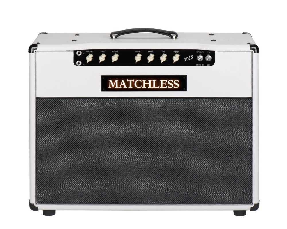 Matchless 30/15   The new single channel 30/15 is pared down but is capable of producing an incredible range of tone that will satisfy any pro.