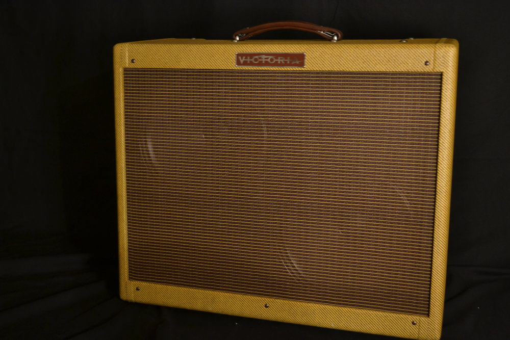 Victoria 50212   The 5E8-A 'low power' Twin remains the most coveted 50W tone monster in the history of guitar amplifiers.