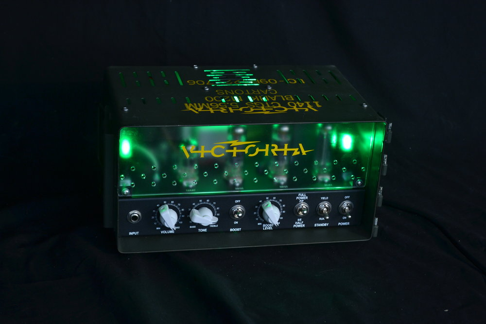 Victoria Vic 105   Designed specifically for a world where hard service and big tone is critical, the VIC105 is right and ready for your next sonic assault.