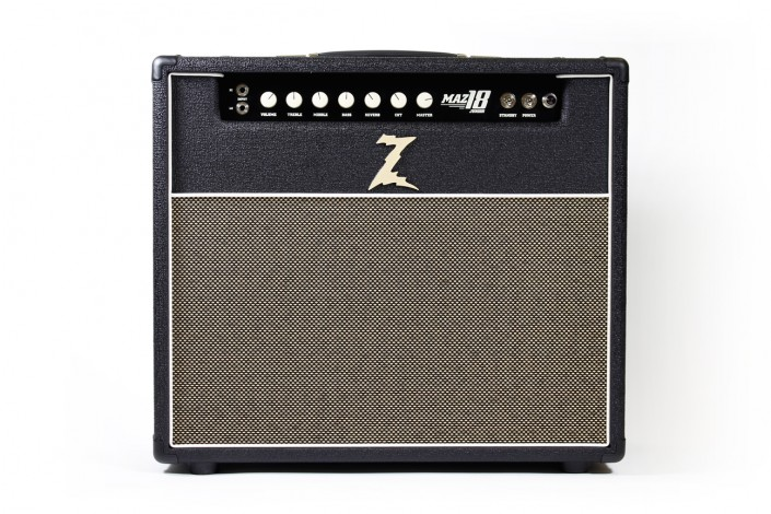 "Dr.Z MAZ 18 JR NR   ""My personal favorite. The 18 NR is one of the best values in a hand-wired amp. Great clean and gain at an affordable price…"" – Dr. Z"