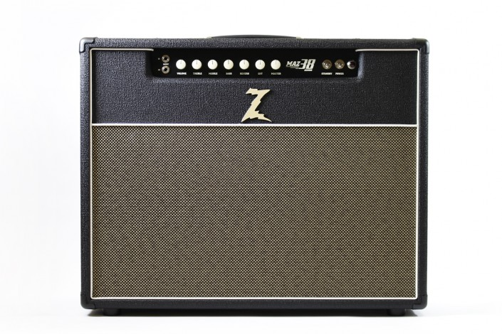 "Dr.Z MAZ 38 SR   ""… Dazzling harmonic complexity, great reverb, and old world craftmanship."" – Guitar Player"