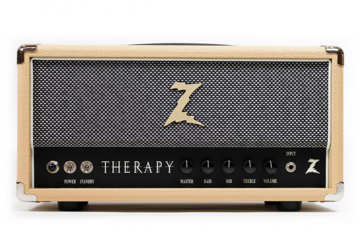 "Dr.Z Therapy   ""The Therapy has great cleans for the roots players and plenty of drive for the rockers."" – Dr. Z"