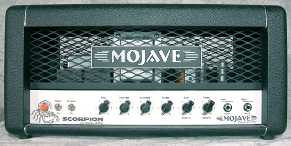 Mojave Scorpion   Modeled after its big brother the Peacemaker, Mojave Ampworks has made the ultimate 50 watt dream amp a reality.