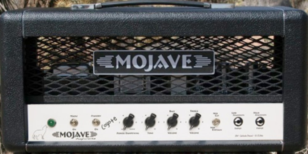 Mojave Cayote   Warm tone that inspires the player, with just the right power level