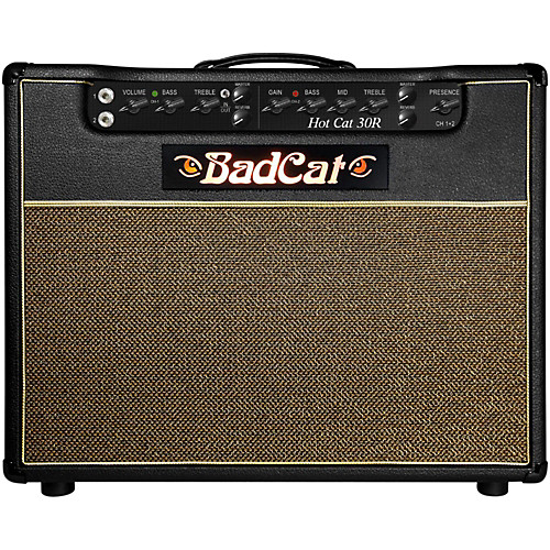 "Badcat Hotcat   THE HOTTEST OF ALL CATS: The HOT CAT 30 WATT is available in a 1x12"" Combo and as a stand alone Head."