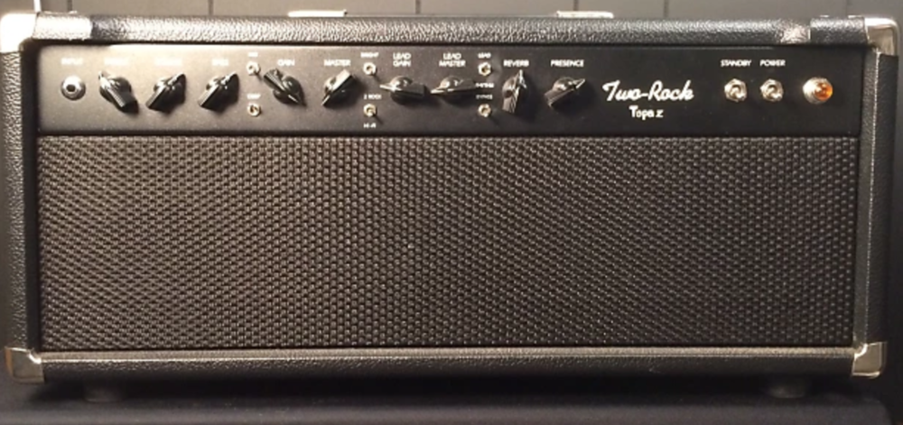 Two Rock Topaz   Hand Built Amp With Nos Tubes, Reverb, Series/Parallel Effects Loop And Unparalleled Performance!