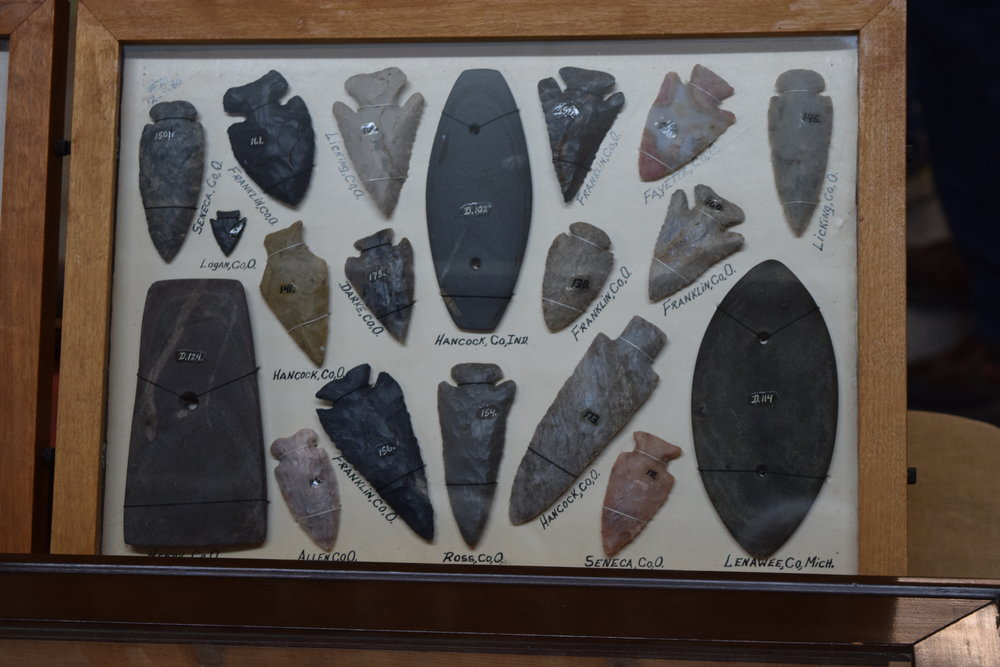 From the Collection of Dean Driskill currently on display by Greg Shipley of Shipley Antiquity Services.