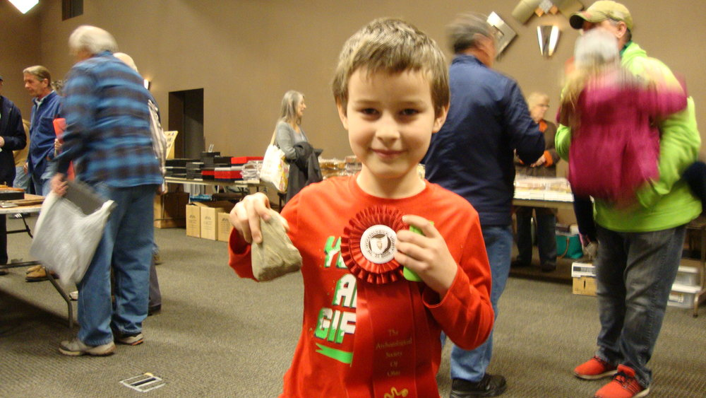 Kenton Cochran won second place in the 13 and under group.