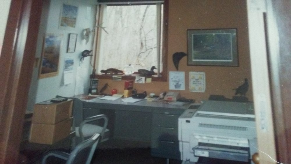 Archaeology Lab at Toledo University circa 1991