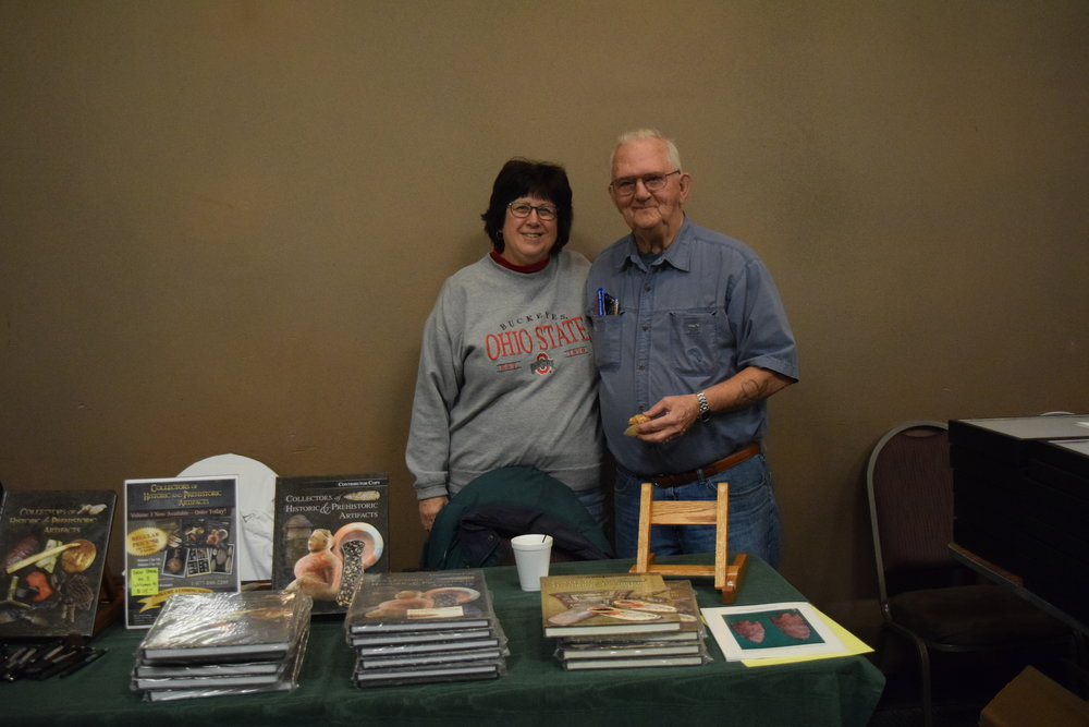 Linda and Bill Ballanger, authors of Collectors of Historic and Prehistoric Artifacts.