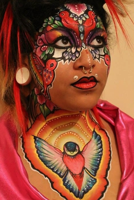 face paint winner brierley thorpe adult face art FACE.JPG