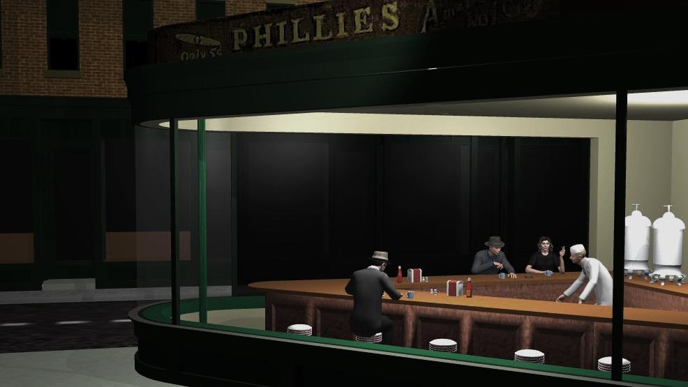 Phillies Diner Set