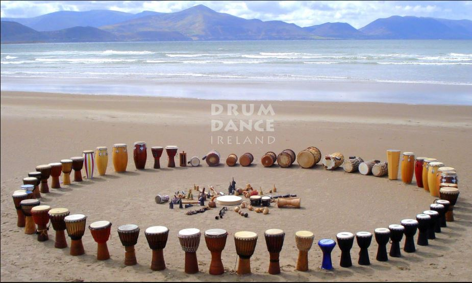 Grab a drum, feel the beat. -