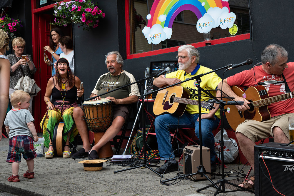 A new musical experience in every corner of the town. -