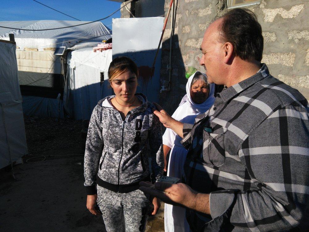 Smuggled out Yezidi October 2015