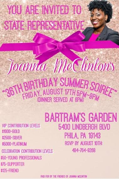 Join me for my summer birthday soirée on Friday, August 17th! - To RSVP, please visit this link to purchase your tickets. Looking forward to seeing you on August 17th!