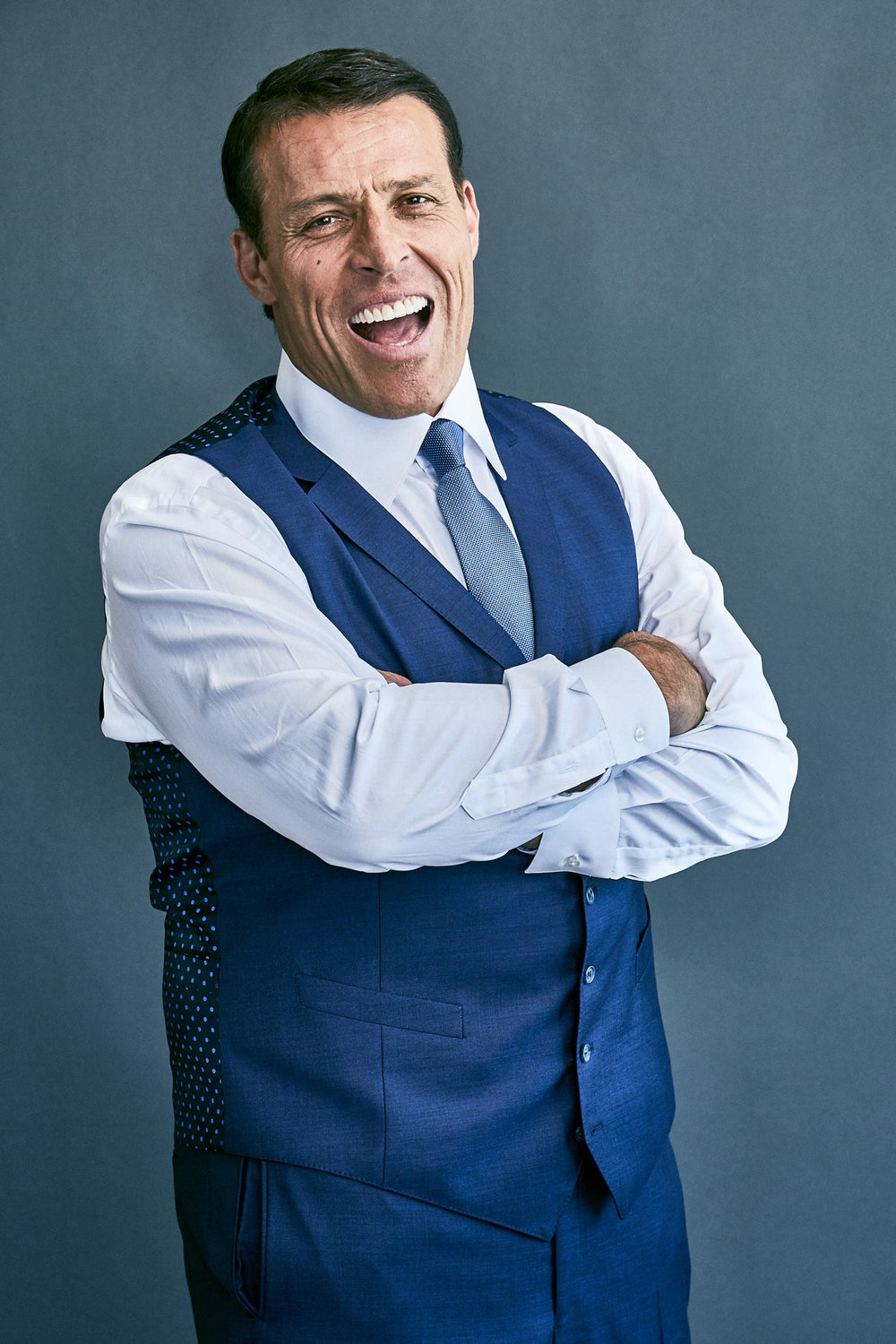 Tony Robbins for Wall Street Journal