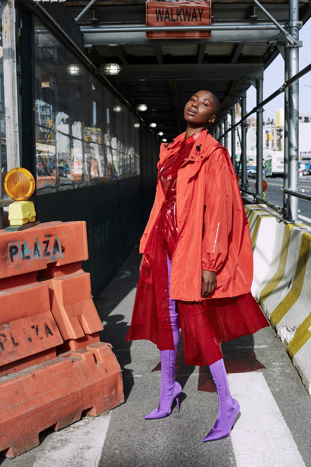 Raincoat Story for The Cut-New York Magazine