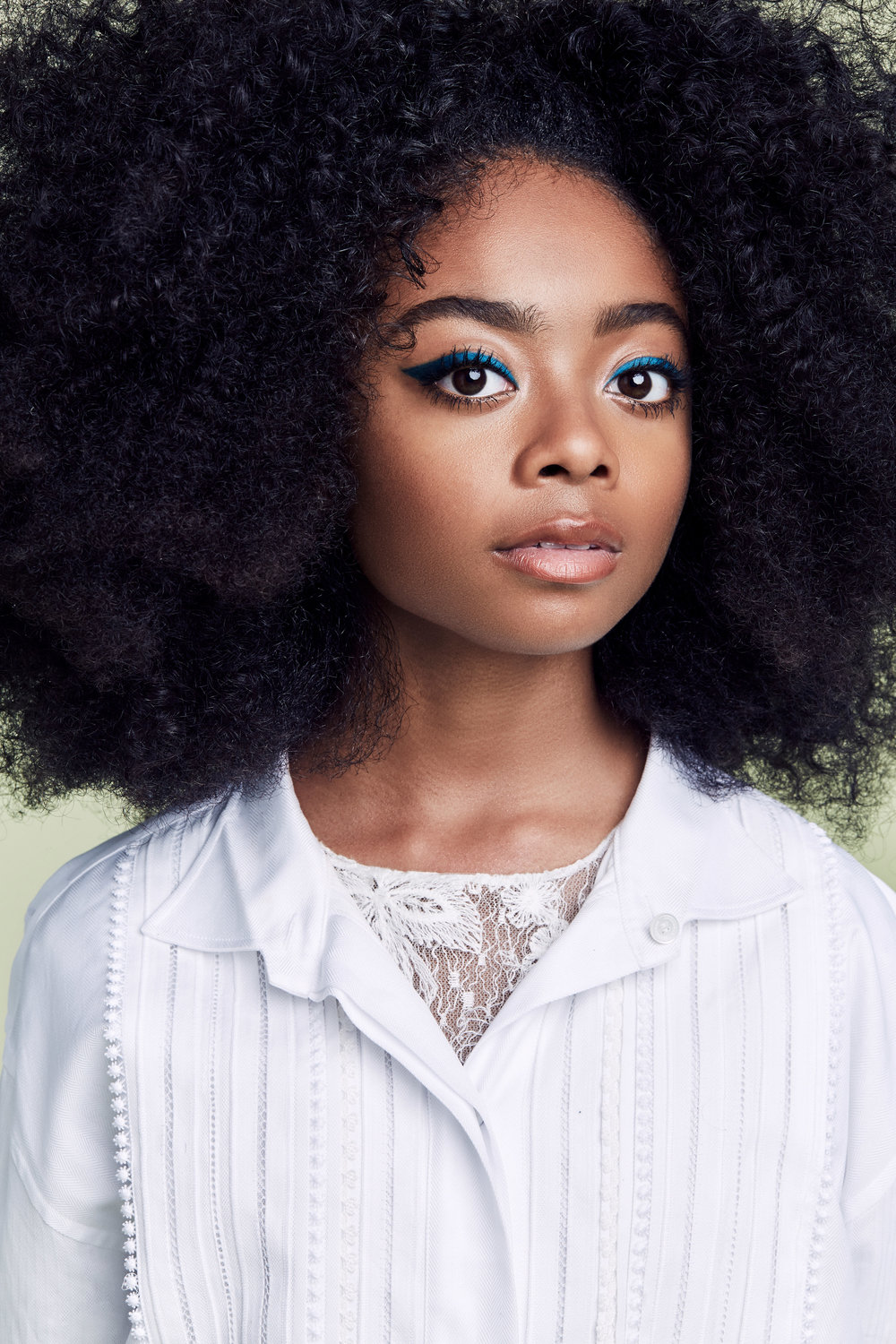 Skai Jackson for The Cut || New York Magazine