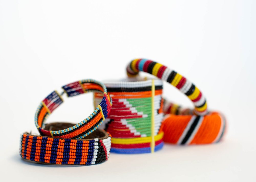 maasai jewelry - Statement jewelry pieces. Each one-of-a-kind, handmade by the local women of the Maasai and Samburu tribes of Kenya.