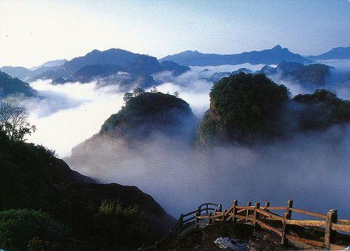 Wuyi Mountains of Fujian, China