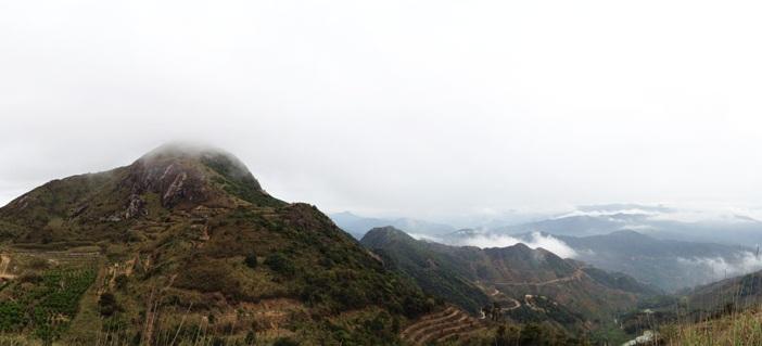 Phoenix Mountains of Guangdong, China
