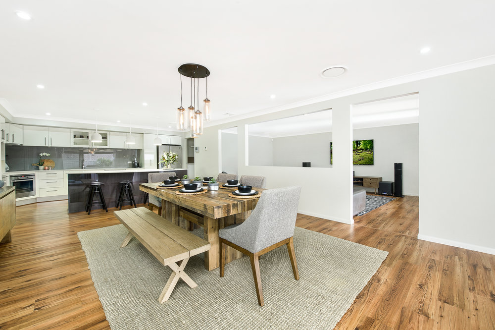 Kiama Shellharbour Gerringong Berry Wollongong South Coast Illawarra Commercial Photographer, architectural photographer, real estate photographer - Dining Room