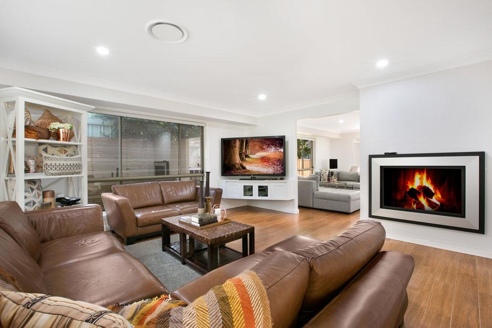 Kiama Shellharbour Gerringong Berry Wollongong South Coast Illawarra Commercial Photographer, architectural photographer, real estate photographer - living room