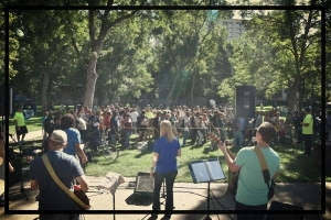 2018 Service in the Park Worship