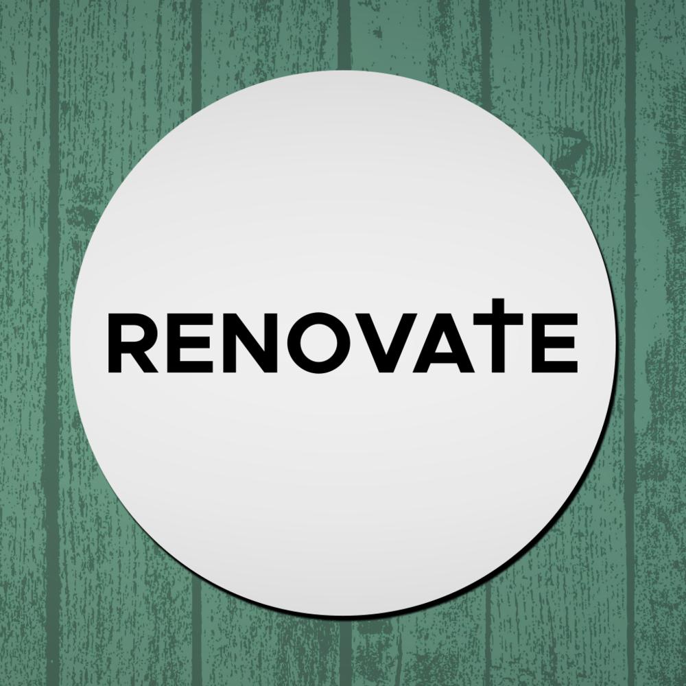 Not too late to Renovate